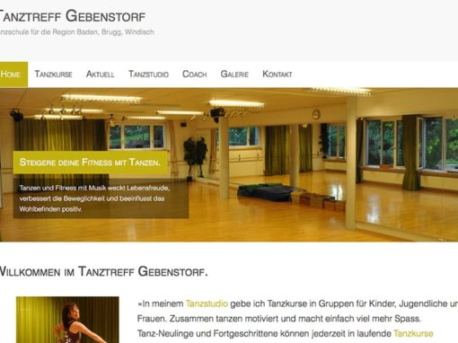 Relaunch Website: Projektleitung, Konzept und Text