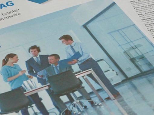 Relaunch Verkaufsbroschüre: Projektleitung, Konzept und Text